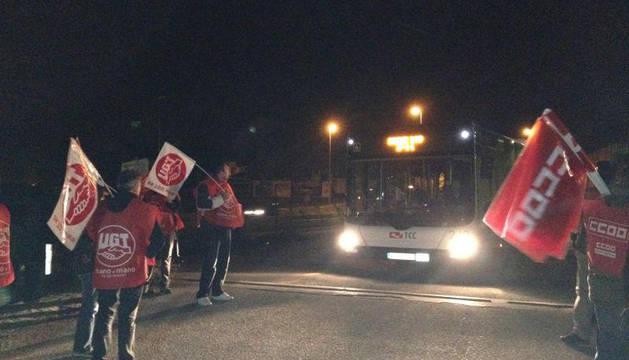 Huelga general del 14N en Navarra