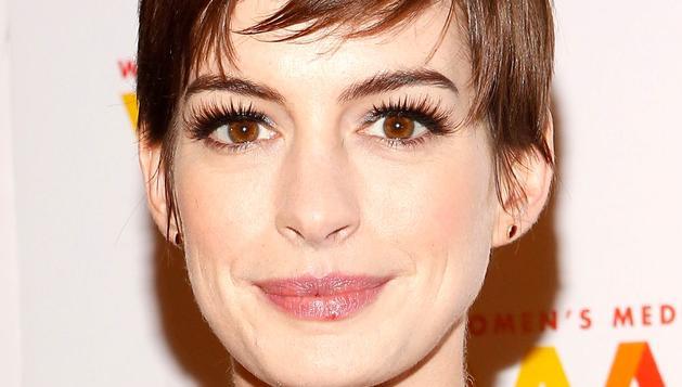 Anne Hathaway ha sufrido un cambio en su aspecto habitual para interpretar su papel en 'Los Miserables'