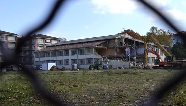 Este viernes se iniciaron las labores de derribo de la Casa de la Misericordia que se prolongarán durante 20 días