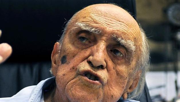 El arquitecto brasileño Oscar Niemeyer