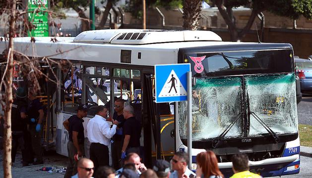 El de hoy es el primer atentado contra el transporte público israelí desde marzo de 2011.