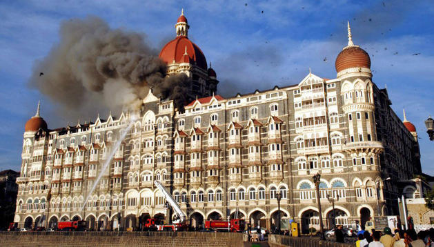 Imagen de archivo del día de los atentados en Bombay