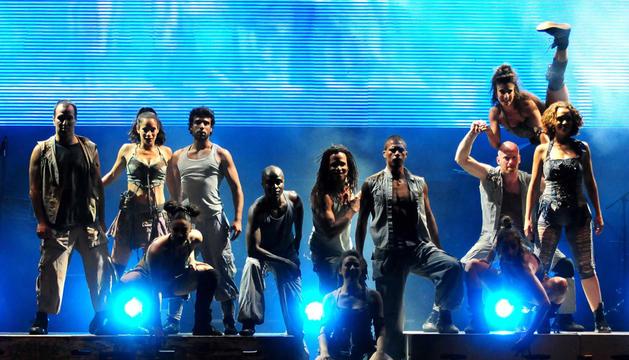 El grupo Mayumana
