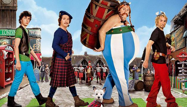Imagen de la película  'Astérix y Obélix al servicio de su majestad'.