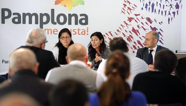 Un momento del seminario sobre las fortificaciones de Pamplona y Bayona.
