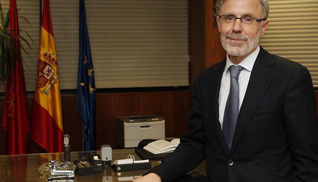 José Antonio Sánchez Sánchez-Villares, en su futuro despacho.