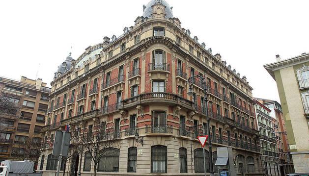 La biblioteca San Francisco, de Pamplona