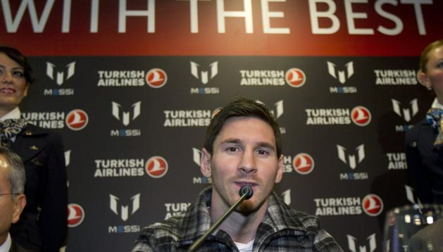 Leo Messi podrá jugar en el Benito Villamarín