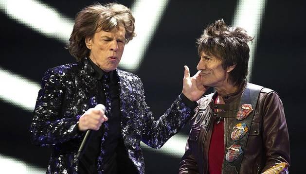 Los Rolling Stones, en su actuación de Nueva York.