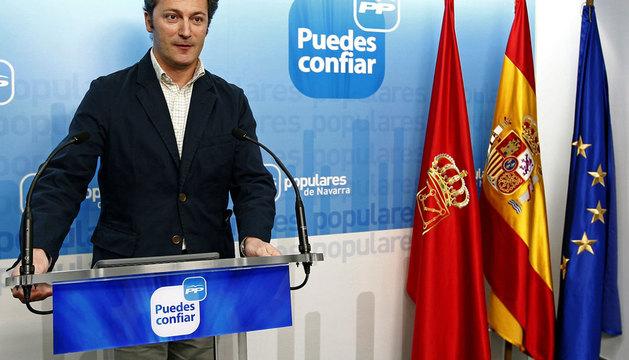 El diputado del PP Santiago Cervera