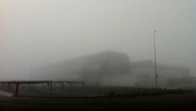 El Aeropuerto de Noáin no ha registrado retrasos.