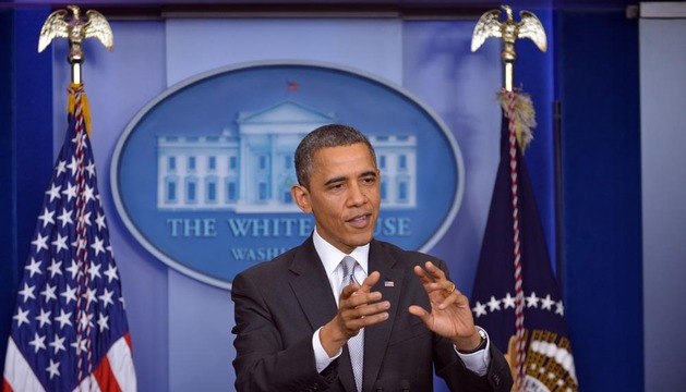 Obama, este miércoles en la Casa Blanca