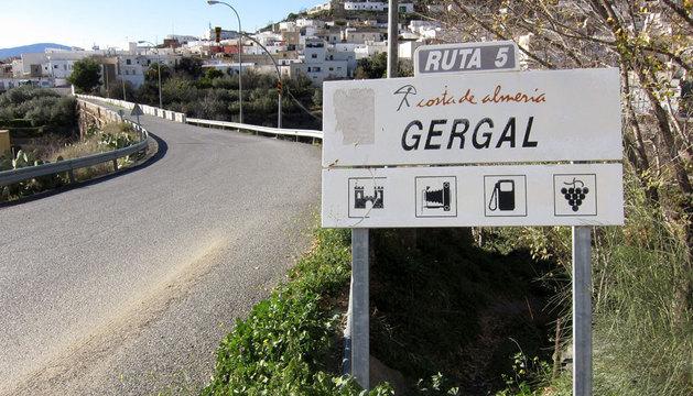 El municipio de Gérgal (Almería), donde vivía la niña.