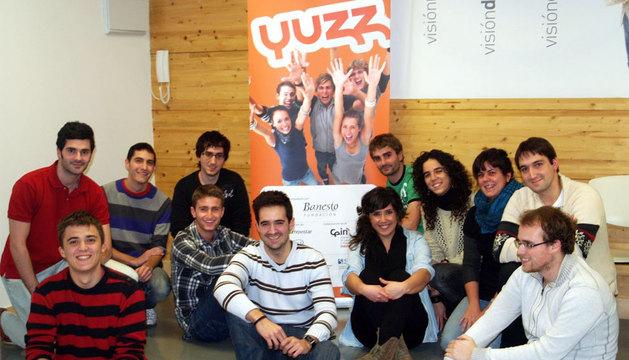 Participantes en la tercera edición del programa Yuzz.