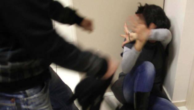 Simulación de un delito de maltrato.
