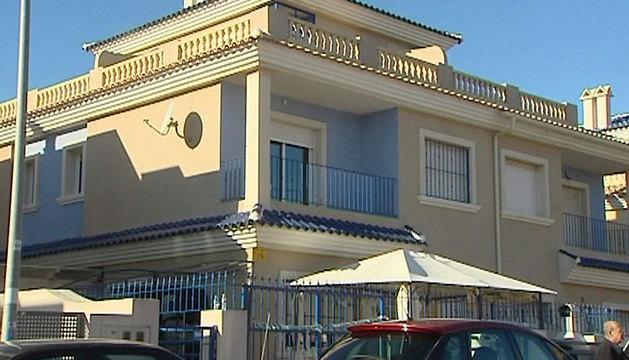 Vivienda del municipio murciano de San Javier en la que un niño de diez meses y su madre han sido hallados muertos.