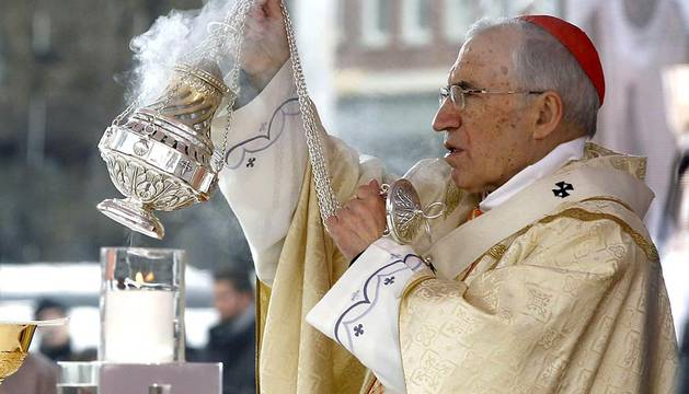 Celebración eucarística del Día de la Sagrada Familia celebrada en Madrid.