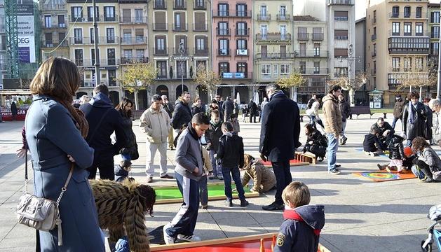 Feria de Navidad en Pamplona