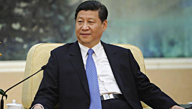 El secretario general del Partido Comunista Chino, Xi Jinping, en una reunión anterior