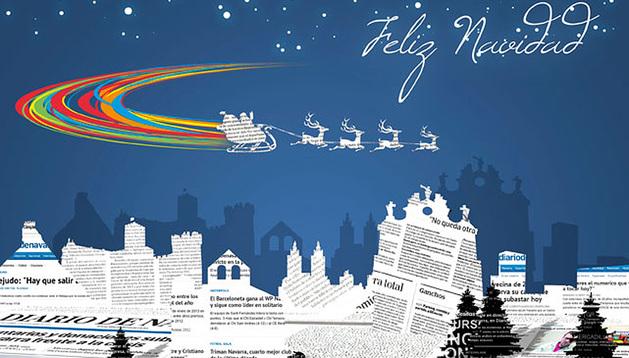 Las ediciones digital e impresa de Diario de Navarra les desean Feliz Navidad.