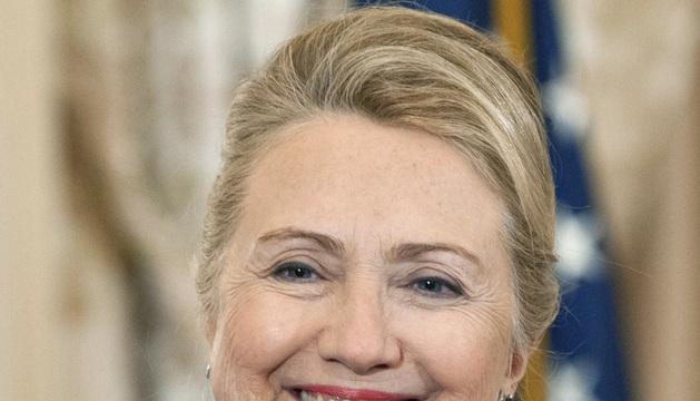 La jefa de la diplomacia estadounidense, Hillary Clinton.