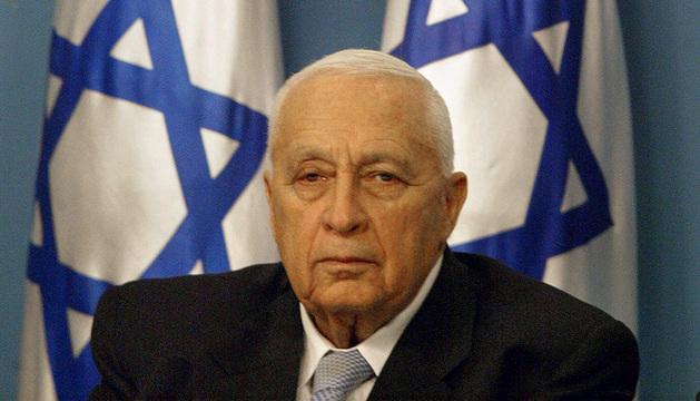 El exprimer ministro israelí Ariel Sharon.