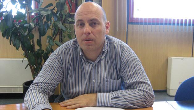 Santiago Osés, director de la planta de Rockwool en Caparroso