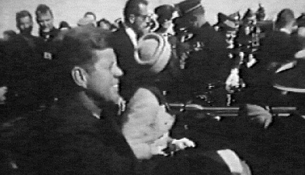 Kennedy, poco antes de ser asesinado.
