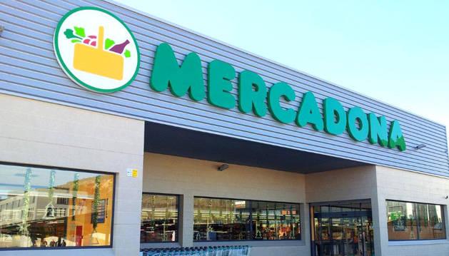 Imagen del supermercado de Ainsoáin.