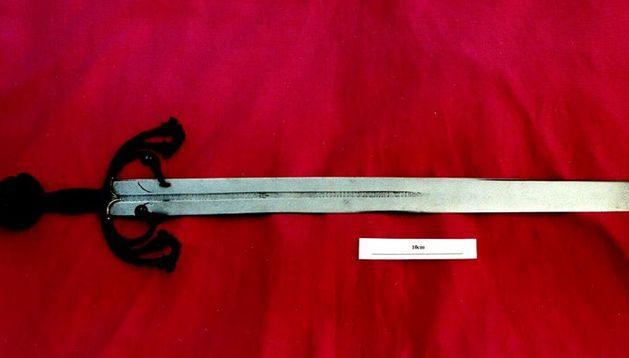 La 'Tizona' que se exhibe en el museo del Ejército
