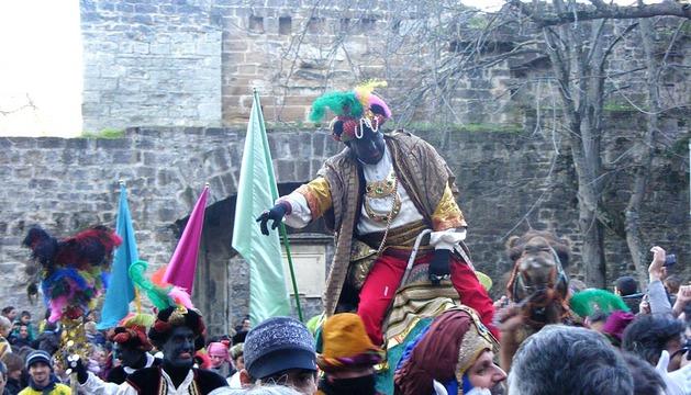 Los Reyes Magos llegan a Pamplona