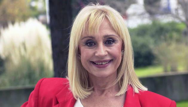 La cantante italiana Raffaella Carrá.