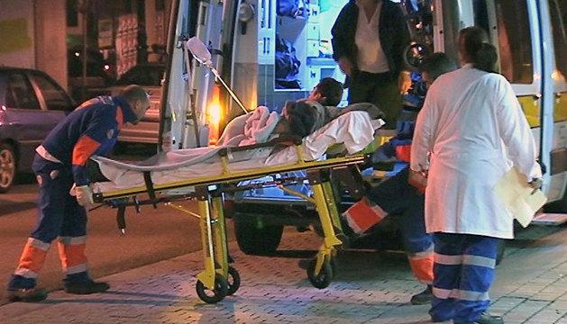 Un hombre ha muerto esta madrugada a consecuencia de un disparo y otro ha resultado herido de consideración (en la foto) tras ser tiroteados por un conocido en Moaña