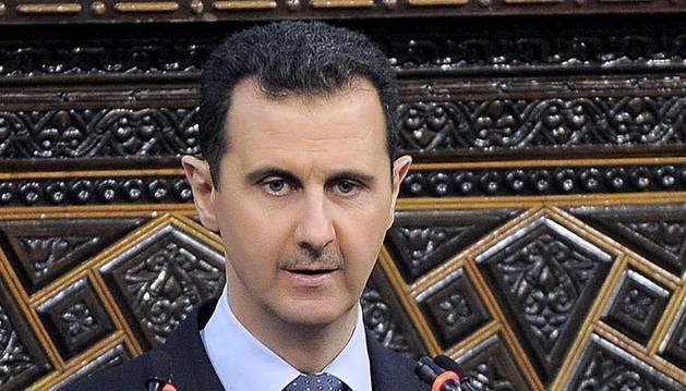 El presidente de Siria, en una imagen de junio de 2012