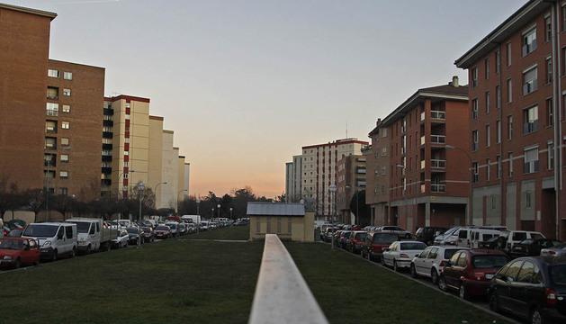 En la imagen, la calle Villafranca de Pamplona donde sucedieron los hechos