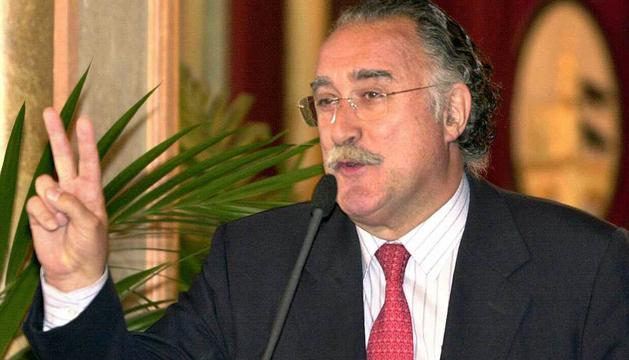 El alcalde de Bilbao, Iñaki Azkuna.