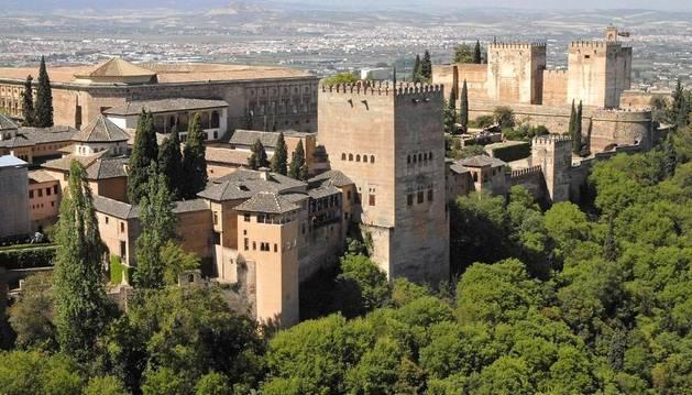 Imagen de archivo de la Alhambra de Granada