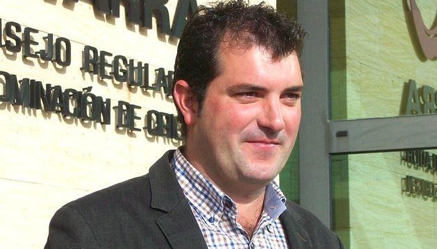 Imagen de David Palacios, nuevo presidente de la denominación de origen Navarra