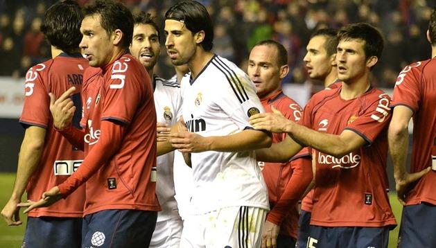 Osasuna empató a cero ante el Real Madrid en el Reyno de Navarra.