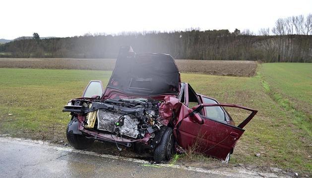 Accidente en Ororbia.