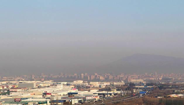 Contaminación en Pamplona