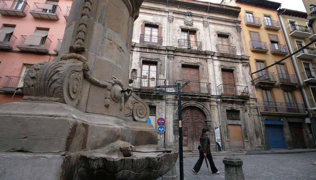 Palacio del Marqués de Rozalejo, en Pamplona.