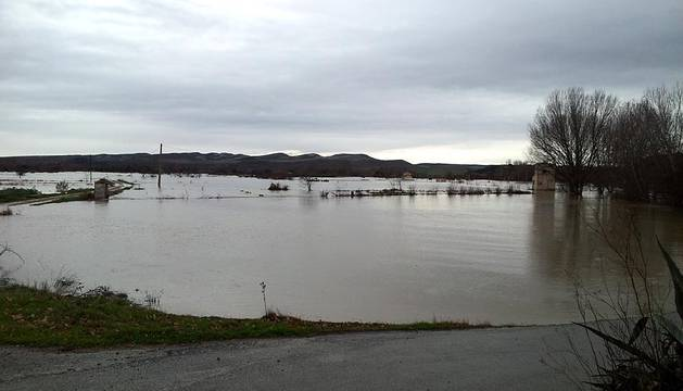 Inundaciones en Navarra