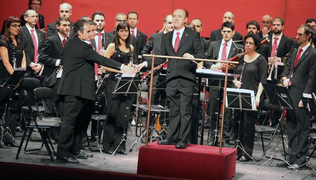 La banda municipal de música La Pamplonesa
