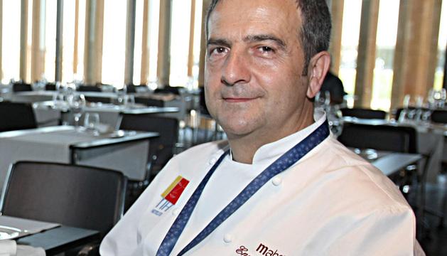 El cocinero Enrique Martínez.