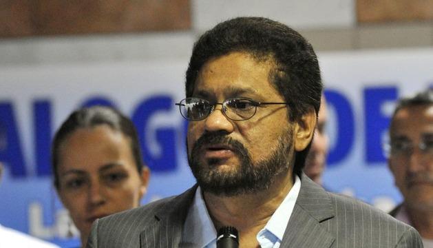 El jefe del equipo negociador de las FARC en los diálogos de paz con el Gobierno colombiano, Iván Márquez