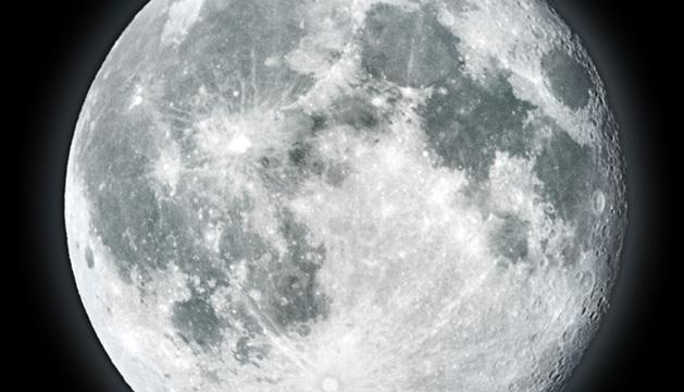 Imagen de la Luna llena.