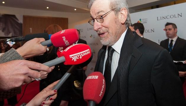 El cineasta estadounidense Steven Spielberg