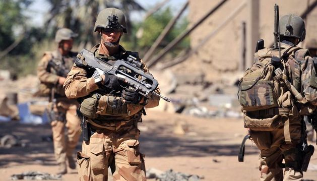 Tropas francesas y malienses recuperan el control de Diabali y Douentza
