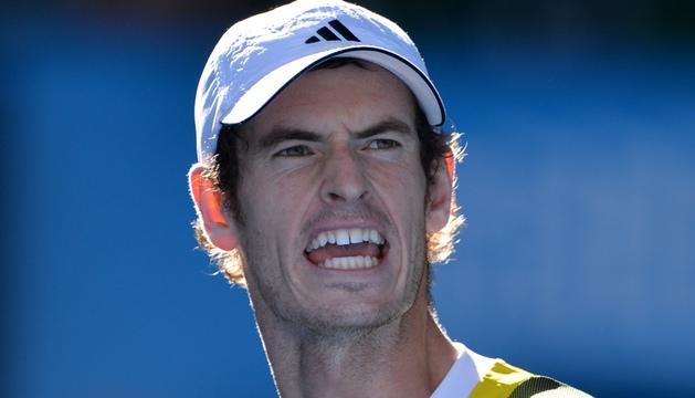 El británico Andy Murray celebra su victoria